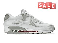 Nike Air Max 90 Print - Chaussures Nike Sportswear Sale Pour Homme Gris…