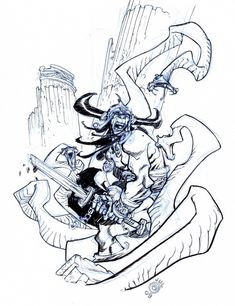 Conan by Eric Canete Comic Art