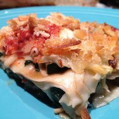 Lasagna With Grilled Broccoli, Mushroom & Zucchini