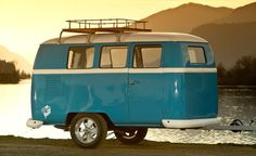 Dub-Box Dinky Dub Camper   Cool Material With the nostalgic good looks of a VW bus, the Dinky Dub Camper is a retro way to make a road trip more enjoyable. Complete with hot/cold water, a bed/couch, Bluetooth sound system, cabinets, a dining table, and plenty of add-on possibilities, it delivers some of the convenience of home in a relatively tiny package.