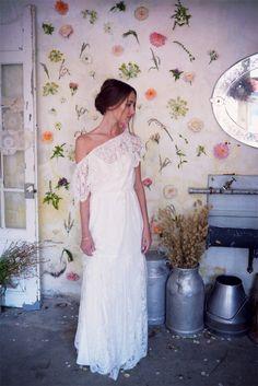 Christina Sfez - Robes de mariée | Modèle:  robe Louise | Crédits: Lucie Cipolla | Blog mariage