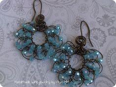 wire jewelry | Prince & Print: My Handmade Wire Jewelry