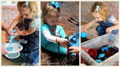 A collection of 30 color activities for toddlers! Includes sensory play, art, fine motor, and more.