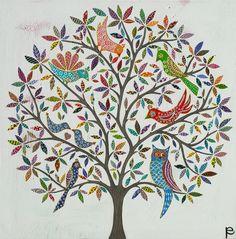 Birdie Tree by Eliza Piro