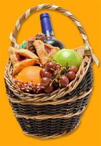 Creative Purim Gift baskets