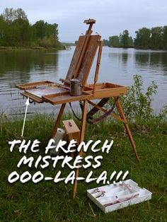 Thomas Jefferson Kitts | Blog: Mods to the French Easel, #1 . . .