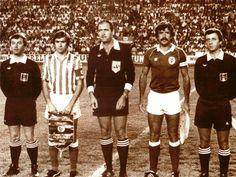 Humberto Coelho, para a posteridade antes do Bétis 1-2 Benfica a contar para a 1ª eliminatória da Taça UEFA, 1982/83