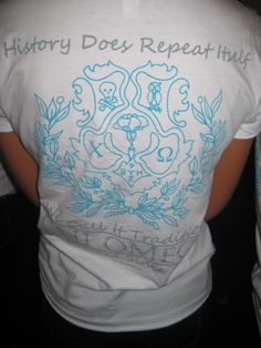 """Recruitment """"History does repeat itself... We call it tradition"""" Chi Omega  Pretty with the Crest!"""
