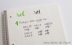 como deixar a letra bonita caligrafia dicas