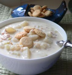 New England Clam Chowder... one of my favorite soups!