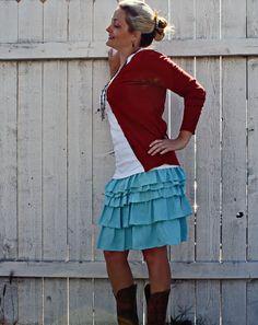 Ruffle Skirt Tutorial