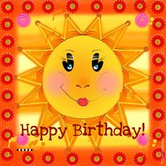 this would be good for Bev down in the cold Victoria Birthday Greetings For Facebook, Birthday Wishes For Her, Birthday Congratulations, Birthday Cheers, Birthday Pins, Happy Birthday Girls, Birthday Wishes Quotes, Birthday Love, Birthday Pictures