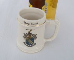 Fraternity Beer Stein Phi Delta Theta Greek by GreenbriarCreations, $17.00