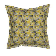 Nature's way hex on Serama by diseniaz Cloth Napkins, Tea Towels, Custom Fabric, Spoonflower, Outdoor Blanket, Throw Pillows, Wallpaper, Design, Home Decor