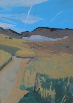 Landscape paintings by Shelley Hull. Landscape Paintings, Mountains, Canvas, Amazing, Nature, Travel, Artists, Tela, Naturaleza
