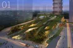 Landscape+Urbanism: Green Ribbon Design: Heping Park