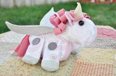 Pearly the Pegasus Pattern by SweetbriarSisters on Etsy