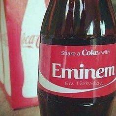 Share a Coke with Eminem Eminem Funny, Eminem Memes, Eminem Rap, Eminem Photos, Eminem Slim Shady, The Real Slim Shady, Harry Potter, Best Rapper, Rap God