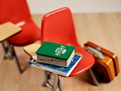 school desk (mini 365 entry by milk & kisses)