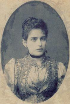 """Santos Moreira, Francisca """"Chiquita"""", Brazil, ca. 1891."""
