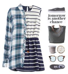 Tomorrow is another chance by junglover on Polyvore featuring polyvore fashion style Preen Rails Vans Independent Reign Taylor Morris Cullen plaidshirt polyvoreeditorial polyvorecontest