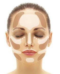 Contouring: la técnica de maquillaje para esculpir el rostro Contouring: the makeup technique to sculpt the face Face Contouring, Contour Makeup, Eye Makeup, Hair Makeup, Makeup Geek, Make Up Tricks, Best Natural Makeup, Makeup Essentials, Makeup Techniques