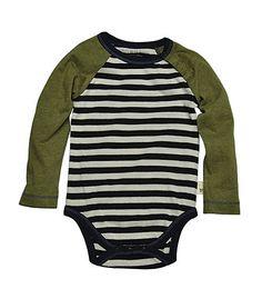 Stripe Raglan Bodysuit - Burts Bees Baby