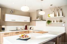 Nouvelle cuisine et aménagement de la salle à manger, AM esquisse - Côté Maison