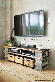 cinderblock furniture. 48 Best Concrete Block And Cinder DIY Furniture Ideas Images On Pinterest | Blocks, Blocks Garden Deco Cinderblock