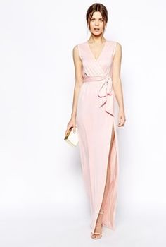 Classy and Sassy Pink Gown on Rent
