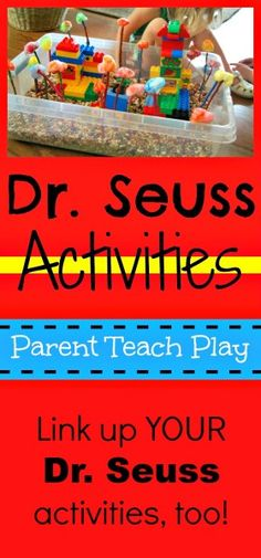 Learning with Dr. Seuss: 100+ Free Dr. Seuss Themed Printables, Crafts, Recipes, and Activities | Free Homeschool Deals ©