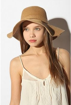 4d6d89b0f64 Shop Pins and Needles Basic Straw Floppy Hat at Urban Outfitters today. We  carry all the latest styles