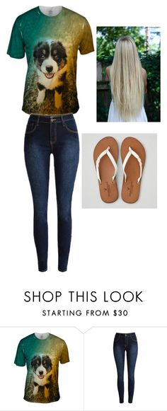 """my sisters outfit❤"" by savannam2323 ❤ liked on Polyvore featuring American Eagle Outfitters"