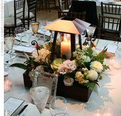 wedding centerpiece lantern