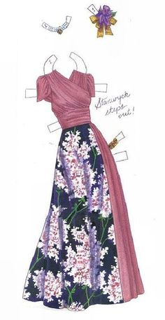 Barbara Stanwyck paper dolls outfit * 1500 free paper dolls at Arielle Gabriel's The International Paper Doll Society for paper doll pals at Pinterest, thanks to all of you..! *