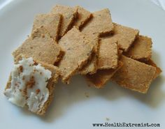 """Paleo/Primal Baked Goods Recipes (including Crackers and """"Breads"""")"""