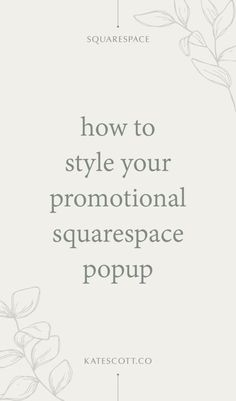 Want to set up a promotional popup in Squarespace to grow your email list? This tutorial will show you how to style your popup using the Squarespace Promotional Popup Style panel + custom CSS to add your own fonts! Website Design Inspiration, Web Design Blog, Popup, Party Font, Design Responsive, Image Overlay, Blogging For Beginners, Email List, Online Business