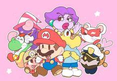 Super Mario Bros Nintendo, Super Mario Brothers, Best Games, Fun Games, Paper Mario, Mario And Luigi, Super Smash Bros, Bowser, Childhood Memories