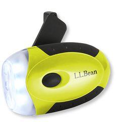 L.L.Bean Crank Flashlight - no batteries needed!