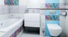 Красочные примеры дизайнов ванных комнат и туалетов.