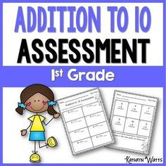 Addition to 10 Assessment