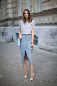 1001 Ideas for a casual chic woman outfit party looks ALLES Casual Skirt Outfits, Simple Outfits, Casual Dresses, Fashionable Outfits, Stylish Outfits, Simply Fashion, Look Fashion, Womens Fashion, Classy Fashion
