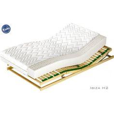 Materac IBIZA H2 - idealny lateksowy materac dla osób o wadze do ok. 80 kg. Więcej informacji na stronie: http://zmateracami.pl/44-ibiza-h2-materac-lateksowy.html