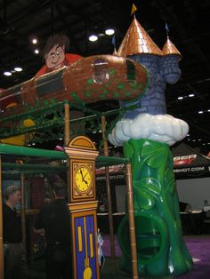 IAAPA trade show we attended in 2004. Fairy tale themed. #amusement #themed #trade #show #playground #Iplayco #IAAPA #play #structure #equipment