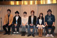 Mushi Busyo Voice Actors(Takuma Terashima, KENN, Mamoru Miyano and more). Photo by tokyo-anime-news.jp