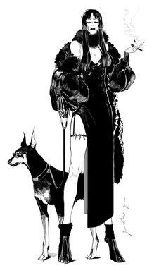 Arts And Crafts Magazine Character Illustration, Illustration Art, Illustrations, Pretty Art, Cute Art, Mode Cyberpunk, Arte Punk, Character Design Inspiration, Aesthetic Art