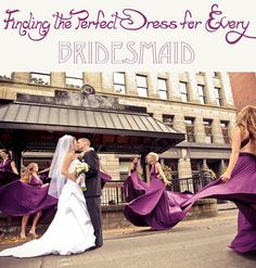 choosing a bridesmaids dress they'll wear again
