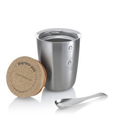 Look at this black + blum Silver Thermo-Pot on #zulily today!