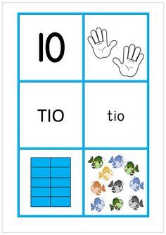 Sifferbilder 0-10
