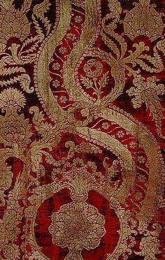 Образцы итальянских тканей XV века
